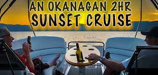 An Okanagan Sunset Cruise